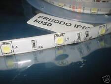 5m SMD5050 LED STRIP STRISCIA BIANCO FREDDO 32w IP68 B7B2