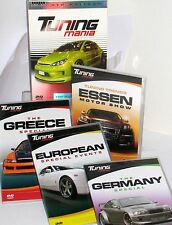 Tuning Mania 4 DVD COLLECTOR'S SPORTS BOX SET GERMANY, GREECE, CAR , SEMA NEW