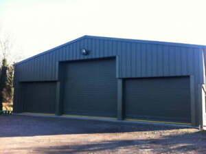 12 x 12 x 3 Steel Storage Building