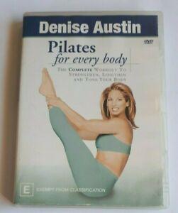 Pilates for Every Body Denise Austin Fitness PAL DVD R4 VGC
