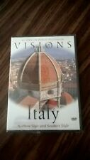 VISIONS OF ITALY DVD - NORTHERN AND SOUTHERN STYLE -  NEW