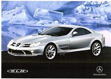 Mercedes-Benz SLR McLaren Coupe 2004 UK Market Launch Leaflet Sales Brochure