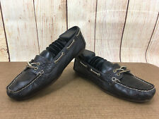 SPERRY TOPSIDER Womens Brown Croc Print Loafers Shoes Size 6 M (9617861) H10(5)