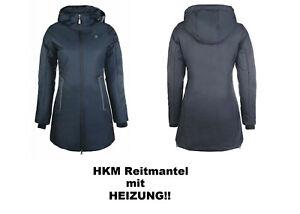 """HKM Winter Reitmantel Heizmantel """"Elegant""""- MIT 4 Stufen  Heizfunktion und Akku"""