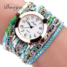 Womens Ladies Quartz Analog Stainless Steel Luxury Bracelet Casual Wrist Watch