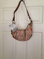 Nine West Ladies Brown/multi Canvas Bag BNWT