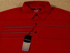 $69 GREG NORMAN PLAY DRY GOLF/POLO SHIRT - LARGE - NEWwTAGS - FREE SHIPPING