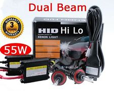 Slim 55W H13 9008 Xenon HID Dual Hi Lo All in one light Conversion Kit 10000k