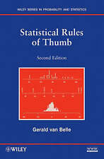 NEW Statistical Rules of Thumb by Gerald van Belle