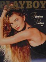 Playboy August 1987 | Paulina Sharry Konopski Porizkova  #2456