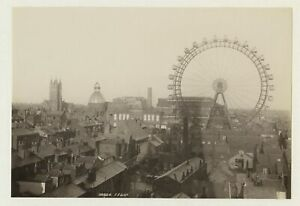 Blackpool Wheel & Rooftops 1896 Photo By Frith