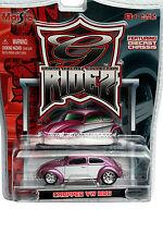 Maisto G-RIDEZ Chopped Volkswagen VW Bug Pink/White