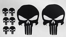 8X PUNISHER AMERICAN FLAG SNIPER SKULL DIE CUT VINYL DECAL STICKER JDM USA DEATH