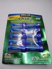 Kirkland Quit 2 mg Lozenge 270 Pieces Nicotine Polacrilex Stop Smoking Aid