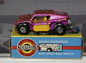Matchbox Superfast 30b Beach Buggy in Dark Metallic Purple with yellow spots