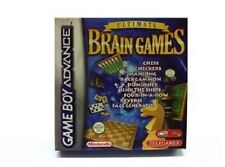 NEW Ultimate Brain Games for Game Boy Advance CHESS CHECKERS MAHJONG BACKGAMMON