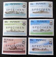 """1990, Schiffe im II.WK., Mi.Nr. 564/69 mit Aufdruck """"SPECIMEN"""" postfr. (P0702)"""