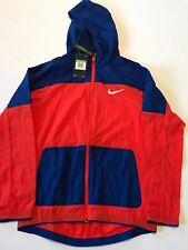 Nike Boys Training Jacket Blue And Orange Size XL Standard Fit MSRP $50
