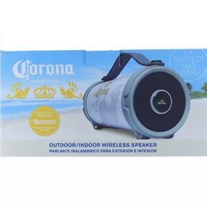 Corona True Wireless Stereo Speaker Bluetooth Portable Compact Beach Music NEW!