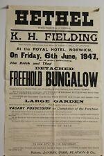 More details for hethel norwich bungalow 1947 hethel-east carlton road anderson shelter e3.298