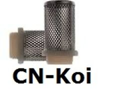 Stainless Filter Cage - Male Thread - various sizes available