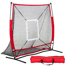Baseball Practice Net Pitching Batting Hitting Strike Zone Softball Thrower