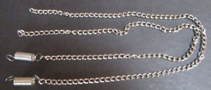 Pair of replacement chains with springs for attachment for Structo log truck
