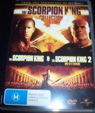 The Scorpion King 1 & 2 (Australia Region 4 R4) DVD – Like New