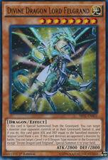 1x YuGiOh Divine Dragon Lord Felgrand - SR02-EN001 - Ultra Rare Near Mint