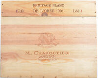 1 LOT N° 11 ESTAMPES façade caisse en bois pour cave à vin WWW.I-FRANCEWINE.FR