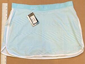 Nike Golf Women's Dri-FIT Flip Print Golf Skort 803098 Copa Blue (XL) NWT #43750