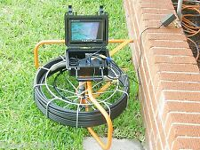 100 foot pipe inspection camera, sewer main inspection