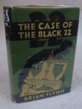 Brian Flynn  THE CASE OF BLACK 22  Macrae, Smith & Company  2nd Print 1929 HC/DJ