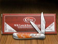 Case xx Peanut Knife Slant Series Tennessee Orange Corelon 1/2500 Pocket S9220TN