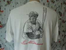 36240a6ab Vtg Boston Red Sox Ted Williams T Shirt Size L