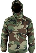 Mil-Tec Combat Jacket Woodland Windbreaker Military Army Outdoor XL