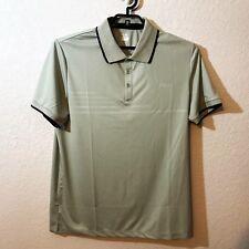 Fila Nwt Men's Sunset Gray & Black Polo Shirt, Size Xlarge, 100% Polyester