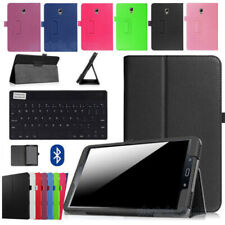 For Samsung Galaxy Tab A 8 2017 SM-T380 T385 Tablet Leather Case Cover Keyboard