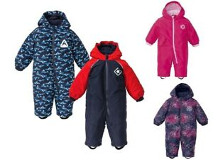 Baby Winteroverall 80 86 92 Overall Schneeanzug Jungen Mädchen Schneeoverall