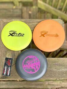 🔴 Discraft Disc Golf Set 3-Pack - X Heat, X Buzzz, Soft Magnet