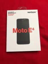 New Motorola Moto E4 (4th Generation) No Contract Verizon Wireless - PREPAID!!