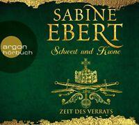 GABRIELE BLUM/SABINE EBERT - SCHWERT UND KRONE-ZEIT DES VERRATS  7 CD NEW