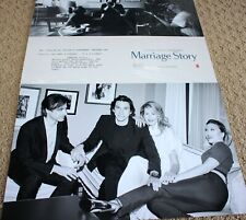 Marriage Story Lobby Cards SEALED Complete Set - Scarlett Johansson, Adam Driver