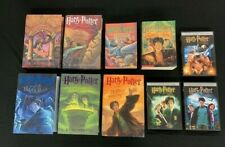 Complete Set Harry Potter Books 1-7, and first three movies DVDs mn524