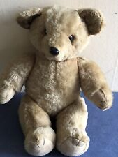 Vintage  Plush Teddy Bear Toy, Circa 1970