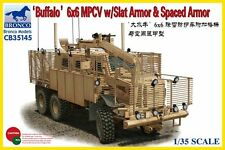 "1/35 BRONCO 35145 - ""Buffalo"" 6x6 MPCV w/Slat Armor IRAQ & AFGHANISTAN"