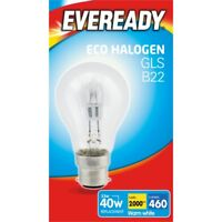 Eveready Eco Gls B22 Clear Bc Boxed, 33w