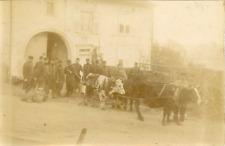 France, Grandvilliers 5e escouade, ca.1898 vintage citrate print Vintage citrate
