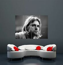 KURT COBAIN NIRVANA LEGEND GIANT WALL ART PRINT POSTER PICTURE WA138