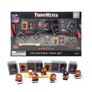 NFL TeenyMates Team Set Cincinnati Bengals 14 Piece Set, New In Box